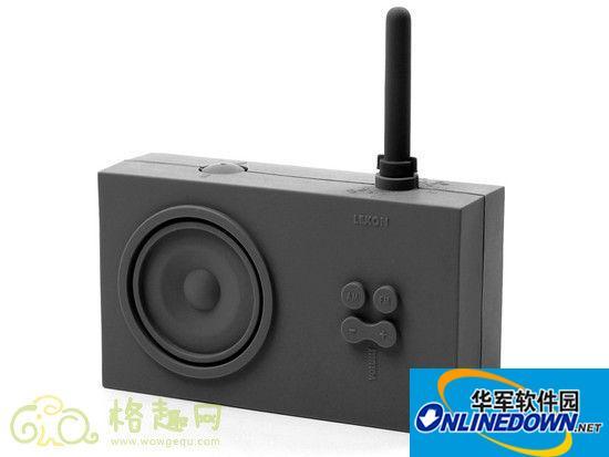 收音机也是艺术品  LEXON Tykho调频收音机