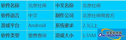 北京社保APP下载:可实现北京社保手机查询