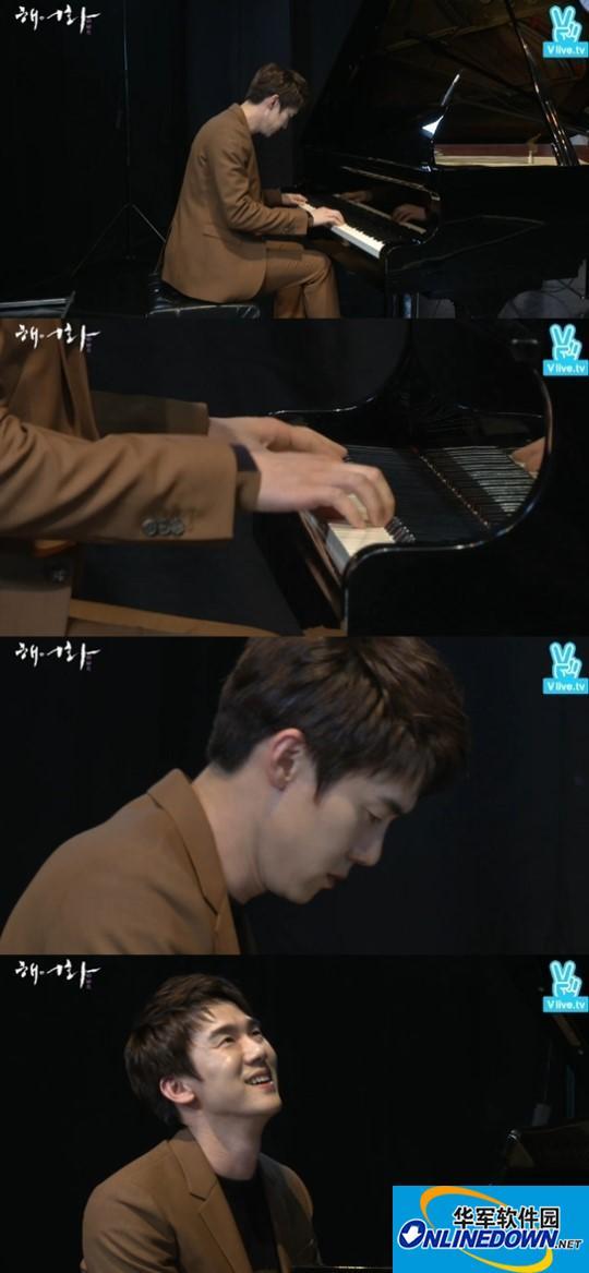 """柳演锡演奏钢琴曲再显""""作曲家""""实力"""