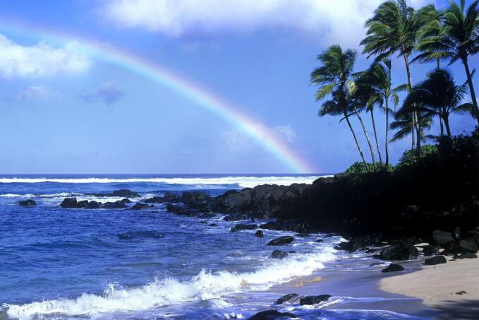 夏威夷海滩壁纸