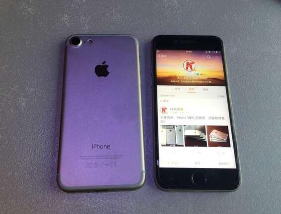 iPhone 7與iPhone 6s真機對比圖曝光
