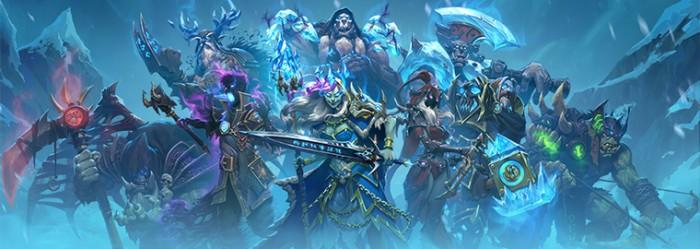 """《炉石传说》新扩展包""""冰封王座的骑士""""正式公布 8月上线"""