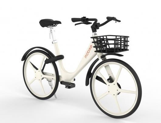 摩拜第四代共享单车发布 号称共享单车界最轻