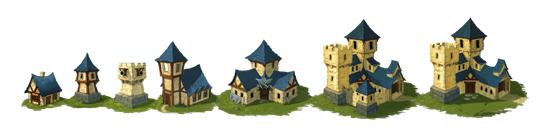 战争高塔两大阵营游戏资源对比(1)