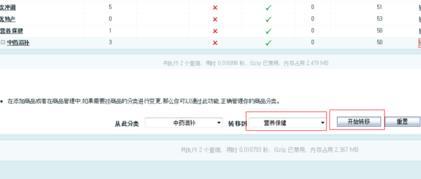 ECShop网店系统删除商品分类方法教程