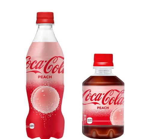 世界首款桃子味可乐8.1元 味道酸爽