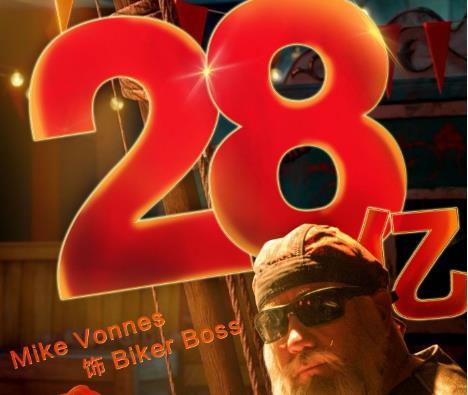 《唐探2》票房破28亿 迈克尔·皮特化身最帅法医