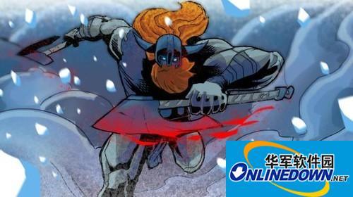 《英雄联盟》奥拉夫主题漫画 狂战士双斧砍翻整个联盟