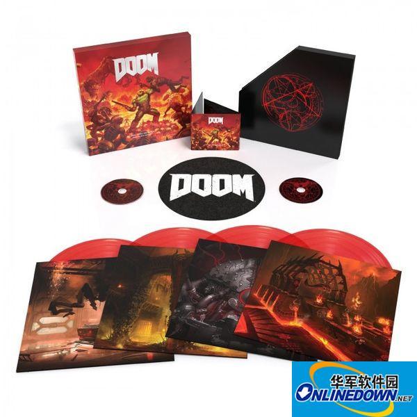 《毁灭战士4》OST游戏原声碟发售CD/黑胶实体版