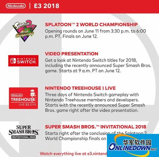 任天堂E3计划公开 将展示《任天堂明星大乱斗》