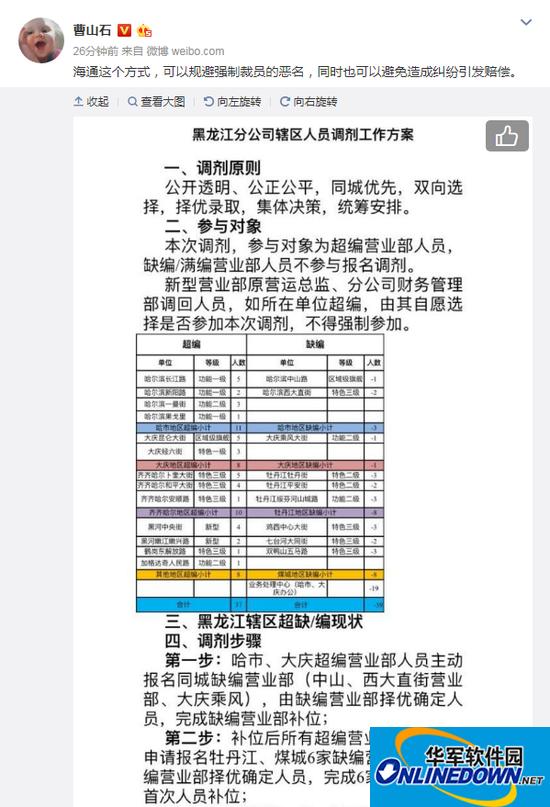 海通证券黑龙江分公司人员调剂缘为何 网友:花式裁员