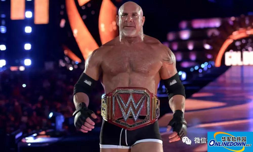 WWE战神高柏有多强?击败布洛克莱斯纳,巨石强森都不是对手