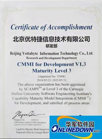 日志易顺利通过CMMI3认证,获国际软件领域通行证