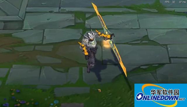 LOL:玩家用皮肤修改器恶弄复仇之矛,网友:这是炎龙侠的mm吗