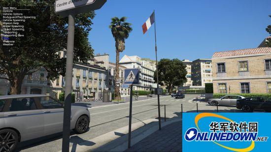 大神自制《GTA5》法国MOD 风景靓丽、香车游艇相伴