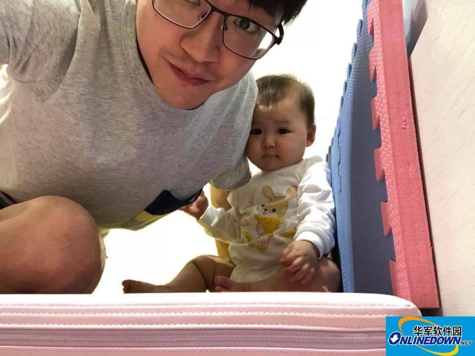 迷你版福原爱上线!江宏杰晒7个月超萌女儿 眼睛大大脸圆圆像爱酱