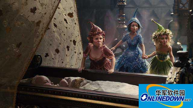 《黑魔女:沉睡魔咒2》开拍 魔女与公主分享可爱片场照