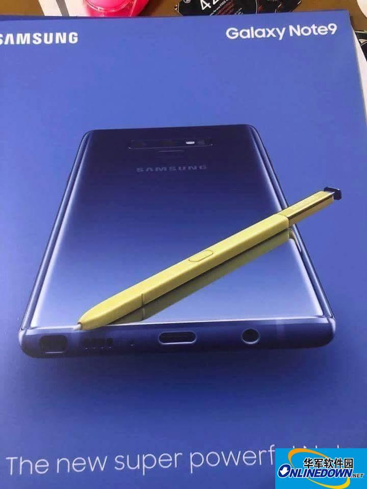 搭配超強小黃筆,三星Galaxy Note9再曝光
