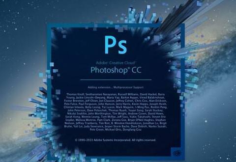 ps重新设置描边颜色的操作过程