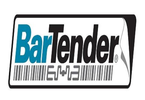 BarTender条码打印插入控制符号的操作步骤