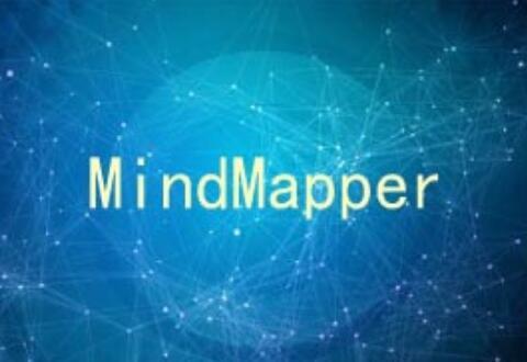 MindMapper修改主题样式的操作流程
