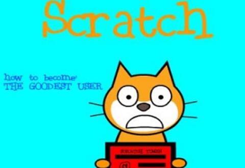 Scratch添加文本的操作流程