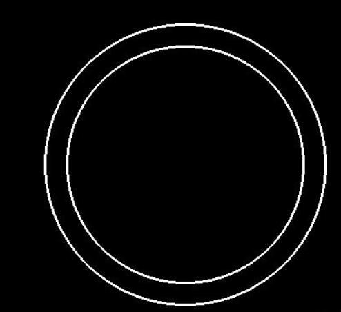 CAXA2013电子图板如何填充圆环图案