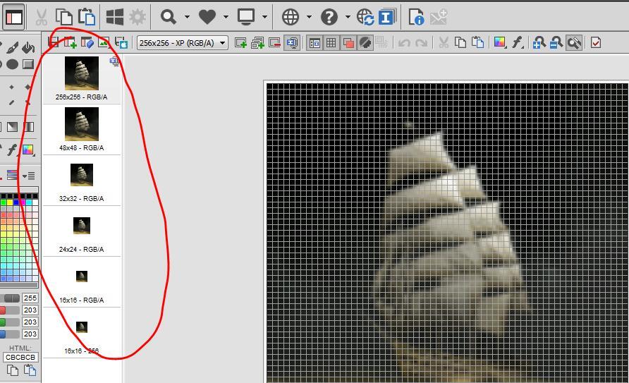 如何将图片转为icon图标