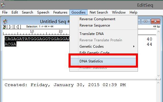 如何快速计算DNA序列的GC含量