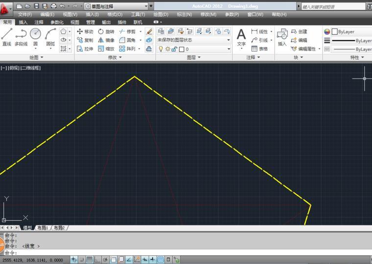 AutoCAD2012:[15]如何设置图层颜色与线形