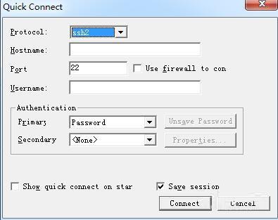 SecureCRT创建telnet连接