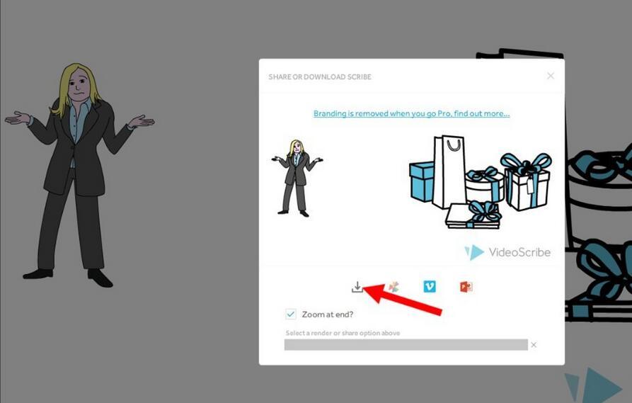 VideoScribe如何导出手绘视频