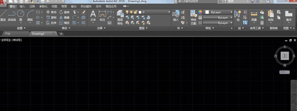AutoCAD2019如何去掉背景上的网状白点
