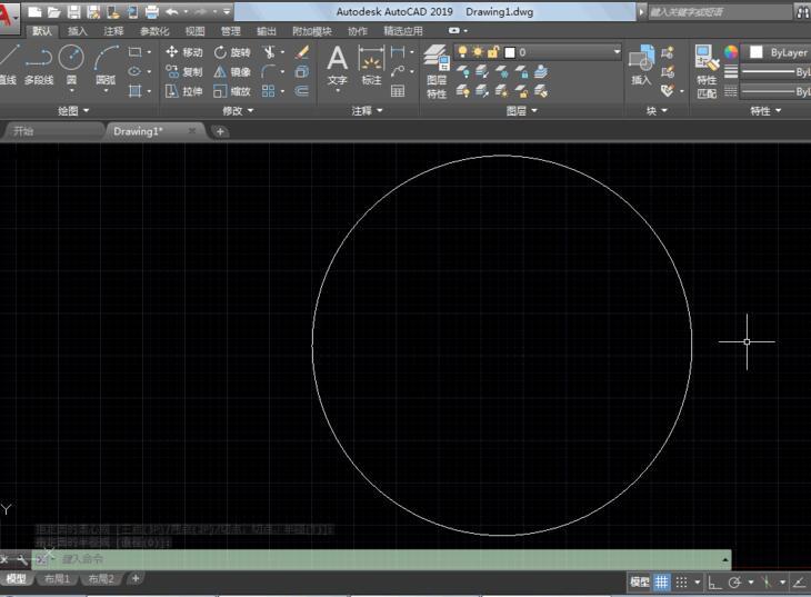 AutoCAD2019如何显示线宽