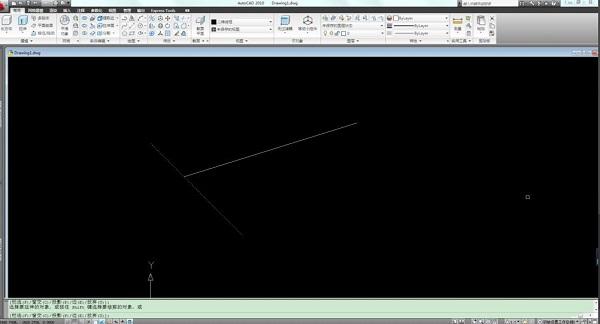 在AutoCAD2010中如何延伸线段