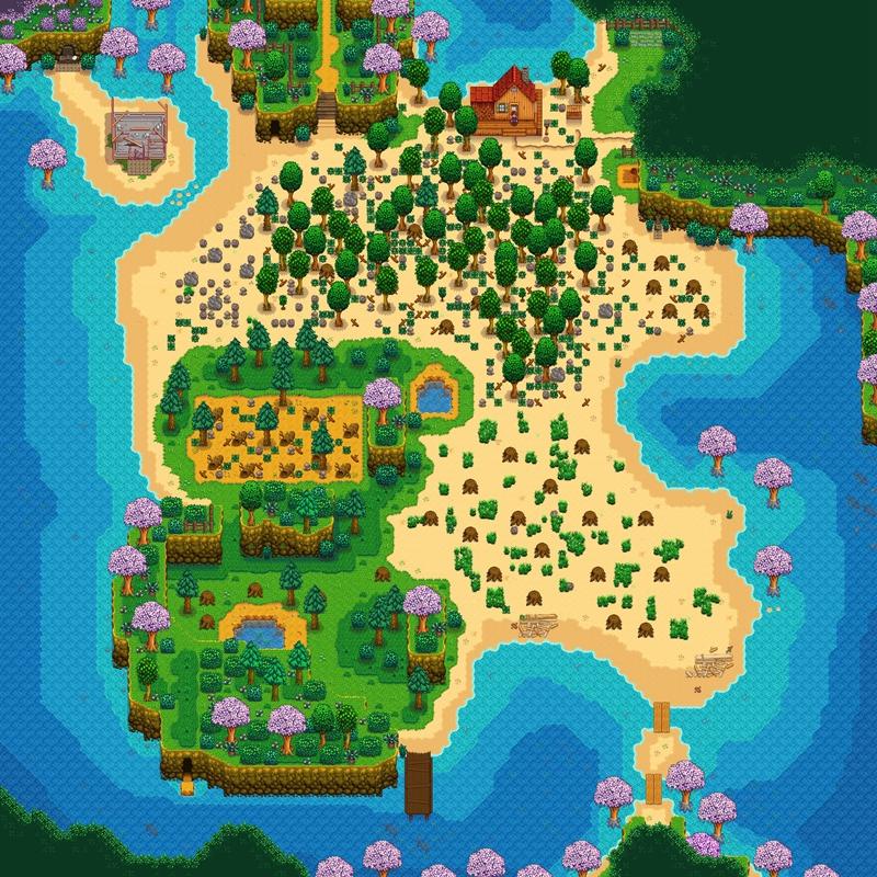 星露谷物语1.5版本沙滩农场种什么 沙滩农场种植推荐
