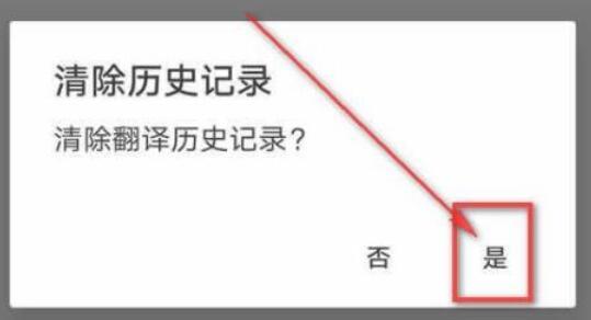 谷歌翻译怎么清除历史记录