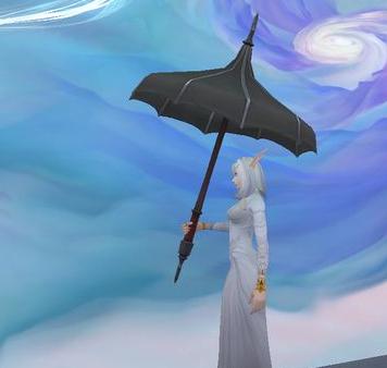 《魔兽世界怀旧服》关于时髦的黑色遮阳伞获取