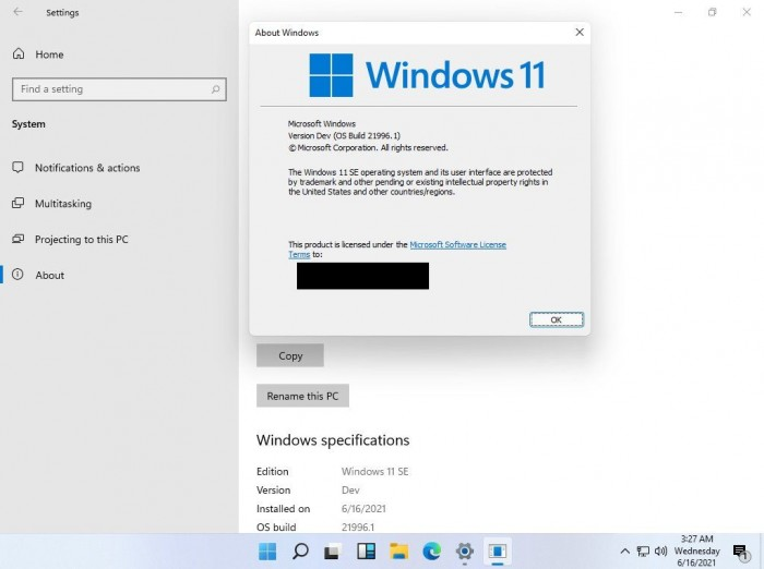 Win11 S Mode版本泄露 正式上线后叫做Windows 11 SE