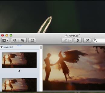 Mac系统怎么查看gif图片?