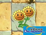 植物大戰僵尸2植物圖鑒大全——雙胞向日葵