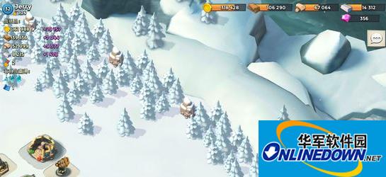 海岛奇兵天气系统下雪解析