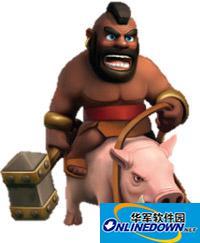 部落战争野猪骑士各等级生命值下调