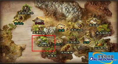 热血传奇手游全新地图:丛林迷宫介绍