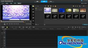 会声会影X8如何自制定格动画短片效果?