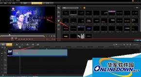 怎么用会声会影x5给视频添加滚动字幕