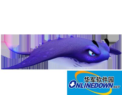捕鱼达人3成功捕捉蓝色的蝙蝠鱼的技巧