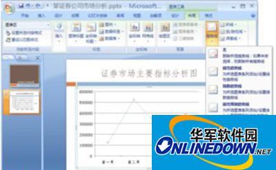 ppt2007分析图表怎么制作
