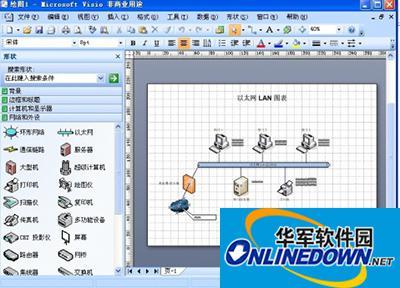 Visio2007图表和数据怎么应用?