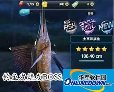 钓鱼发烧友攻略BOSS鱼攻略介绍